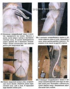 резьба по дереву, скульптура, мастер-класс