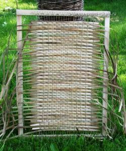 плетение циновки из рогоза своими руками