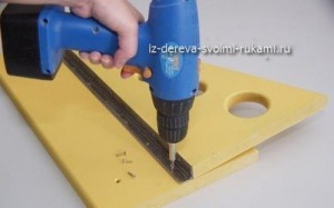 как сделать балконный столик своими руками