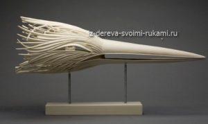 резная скульптура из дерева Рон Лайпорт