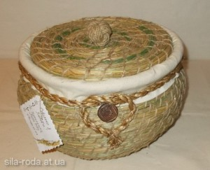 плетение из травы (сена) мастер-класс