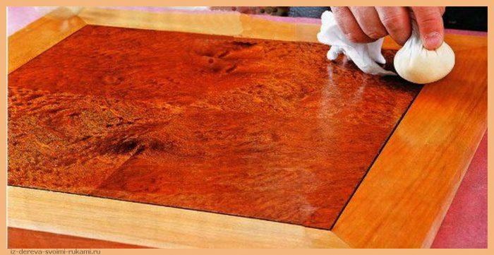 p2zE2h8AZDw - Из дерева своими руками! Интересные деревянные поделки, мебель, мастер-классы по дереву - Финишная отделка дерева. Как изготовить и нанести шеллак