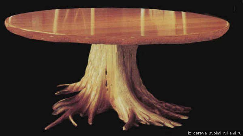 Мебель из пней (12 фотографий). Ход работы по созданию мебели из пня
