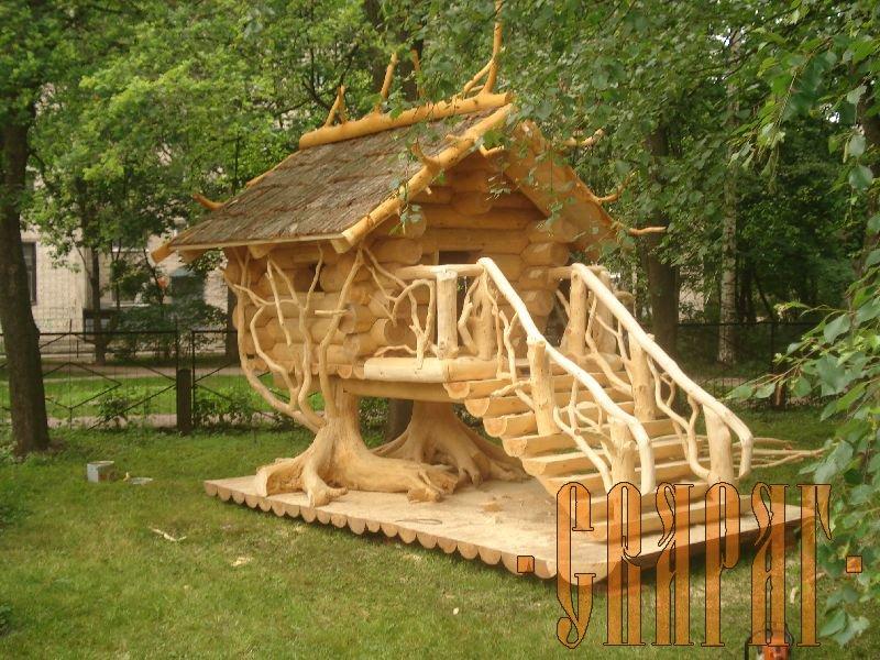 Из дерева для любимых детишек