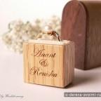 12 - Из дерева своими руками! Интересные деревянные поделки, мебель, мастер-классы по дереву - Деревянные коробочки для колец, 12 фотографий