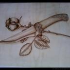 фото 1 - Из дерева своими руками! Интересные деревянные поделки, мебель, мастер-классы по дереву - Пирография: 50 фотографий мастеров и любителей, которые мне понравились