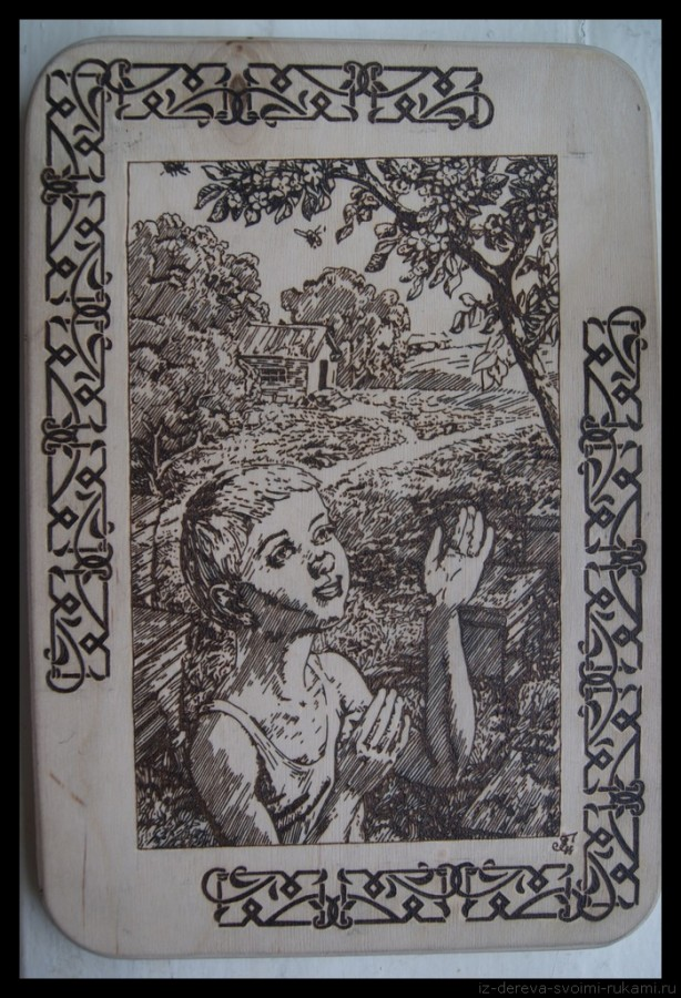 Пирография, фото 79