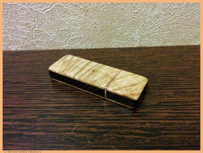 1450838382189993023 - Из дерева своими руками! Интересные деревянные поделки, мебель, мастер-классы по дереву - Корпус для флешки из дерева, подробный мастер-класс с фотографиями