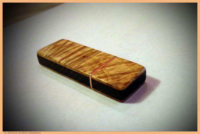 1450838975192257225 - Из дерева своими руками! Интересные деревянные поделки, мебель, мастер-классы по дереву - Корпус для флешки из дерева, подробный мастер-класс с фотографиями
