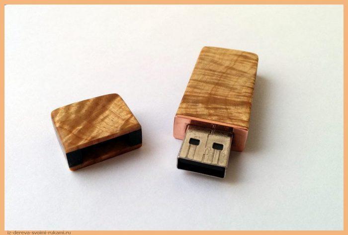 1450839294154473068 - Из дерева своими руками! Интересные деревянные поделки, мебель, мастер-классы по дереву - Корпус для флешки из дерева, подробный мастер-класс с фотографиями