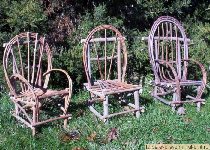 Мебель из веток - много фото и текст https://iz-dereva-svoimi-rukami.ru