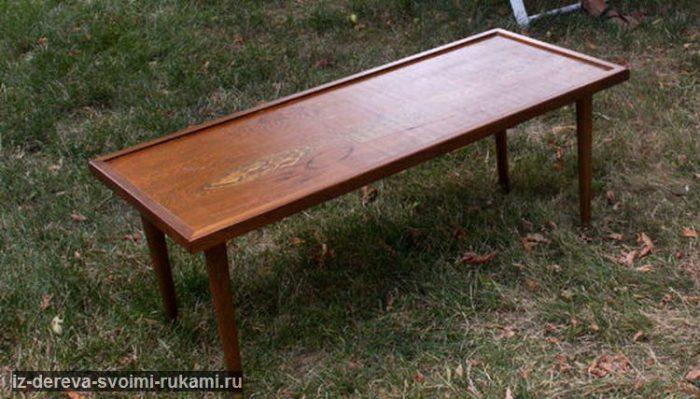 Журнальный столик-оттоманка из старого стола своими руками | Идеи журнальных столиков https://iz-dereva-svoimi-rukami.ru