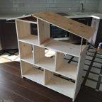 1 - Из дерева своими руками! Интересные деревянные поделки, мебель, мастер-классы по дереву - Домик-полка для детей из дерева своими руками