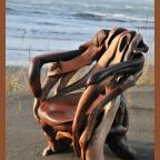 6WX0yYw1cZU - Из дерева своими руками! Интересные деревянные поделки, мебель, мастер-классы по дереву - Мебель из выброшенной на берег древесины, 6 фото