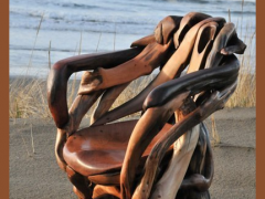 Мебель из выброшенной на берег древесины, 6 фото