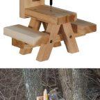 1472297599119545929 - Из дерева своими руками. Мастер-классы по дереву - Кормушка для белок :)