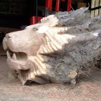 1472720872163741162 - Из дерева своими руками. Мастер-классы по дереву - Лев из пня