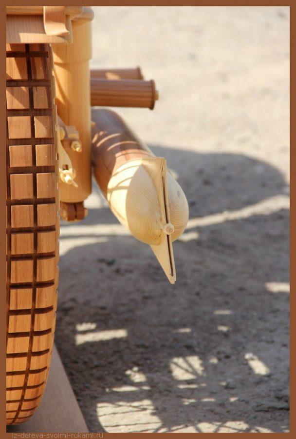 49 00008 - Из дерева своими руками! Интересные деревянные поделки, мебель, мастер-классы по дереву - Мотоцикл ИЖ-49 из дерева, 40 фотографий и видео