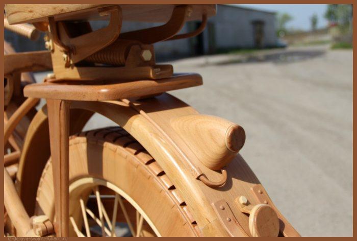 49 00011 - Из дерева своими руками! Интересные деревянные поделки, мебель, мастер-классы по дереву - Мотоцикл ИЖ-49 из дерева, 40 фотографий и видео