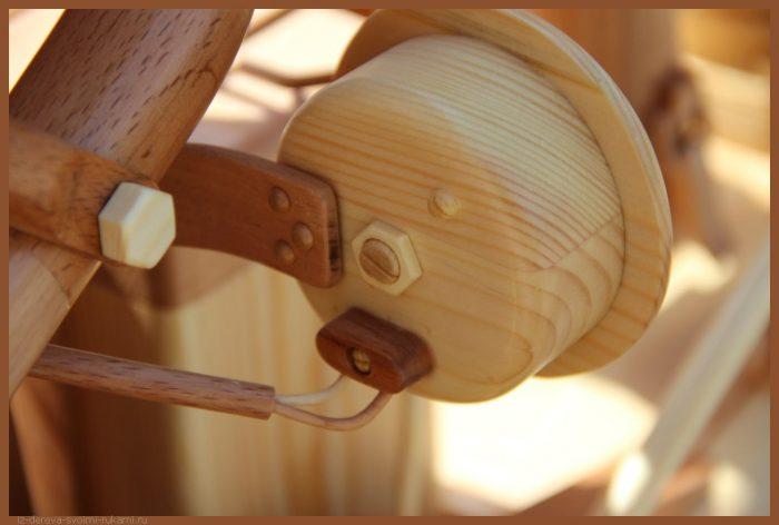 49 00019 - Из дерева своими руками! Интересные деревянные поделки, мебель, мастер-классы по дереву - Мотоцикл ИЖ-49 из дерева, 40 фотографий и видео