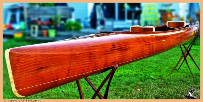 533 - Из дерева своими руками! Интересные деревянные поделки, мебель, мастер-классы по дереву - Постройка деревянного каяка с нуля. Подробные видеоролики