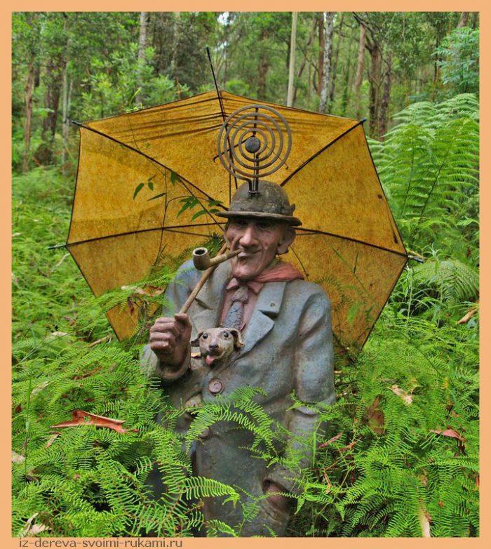 350815554 1b9d2ae3c9 o - Из дерева своими руками. Мастер-классы по дереву - Сад скульптур в Мельбурне, Австралия (21 фото+видео). Мастер Бруно Торфс