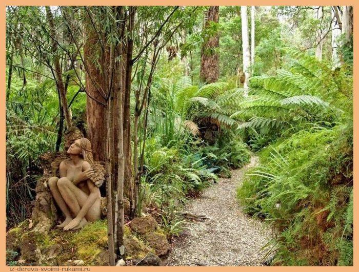 Bruno Torfs 3 - Из дерева своими руками. Мастер-классы по дереву - Сад скульптур в Мельбурне, Австралия (21 фото+видео). Мастер Бруно Торфс
