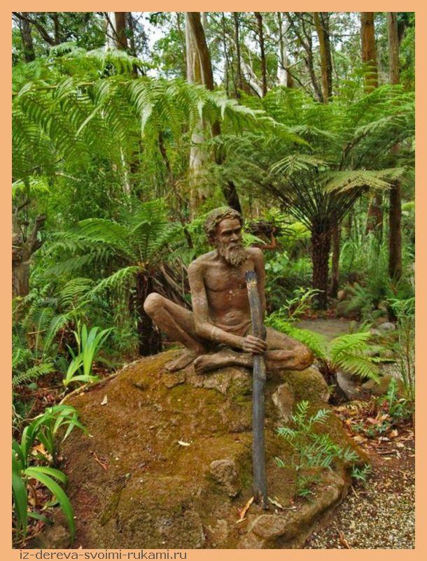 Bruno Torfs sculpture garden13 - Из дерева своими руками. Мастер-классы по дереву - Сад скульптур в Мельбурне, Австралия (21 фото+видео). Мастер Бруно Торфс