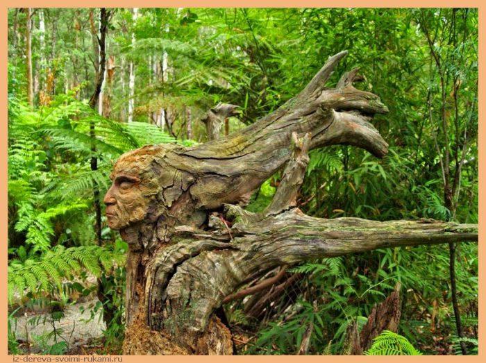 Sculpture Garden 6 - Из дерева своими руками. Мастер-классы по дереву - Сад скульптур в Мельбурне, Австралия (21 фото+видео). Мастер Бруно Торфс