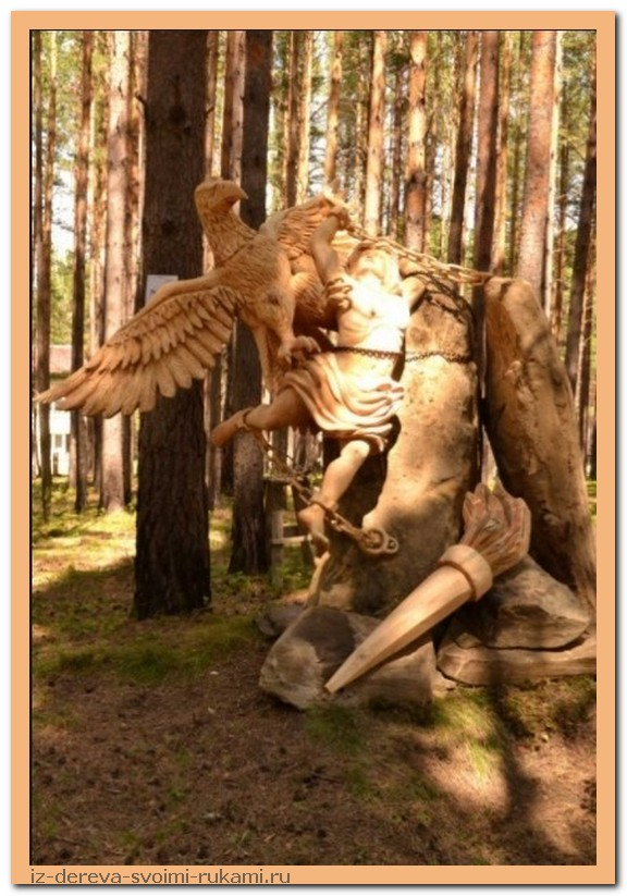 - Из дерева своими руками. Мастер-классы по дереву - Даже в мертвое дерево можно вдохнуть жизнь! Нужен лишь талант и упорство
