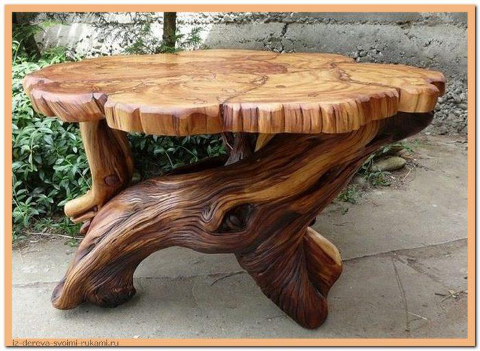 5GkJs2Ht1TE - Из дерева своими руками. Мастер-классы по дереву - Очень крутые столы! 15 фото