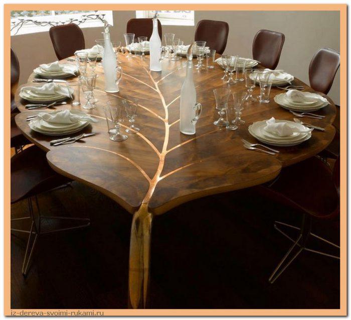 BePe44V2ieI - Из дерева своими руками. Мастер-классы по дереву - Очень крутые столы! 15 фото