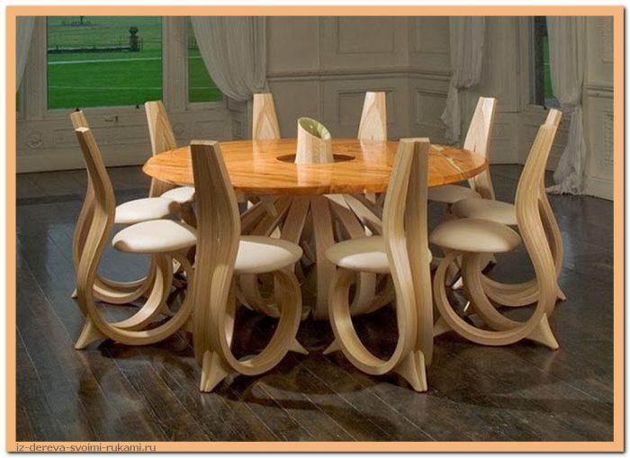 KIsbRFmvntM - Из дерева своими руками. Мастер-классы по дереву - Очень крутые столы! 15 фото