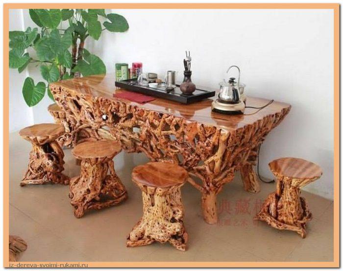 OXQbL b538g - Из дерева своими руками. Мастер-классы по дереву - Очень крутые столы! 15 фото
