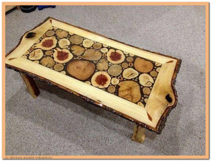 idyjfj1HoY8 - Из дерева своими руками. Мастер-классы по дереву - Очень крутые столы! 15 фото