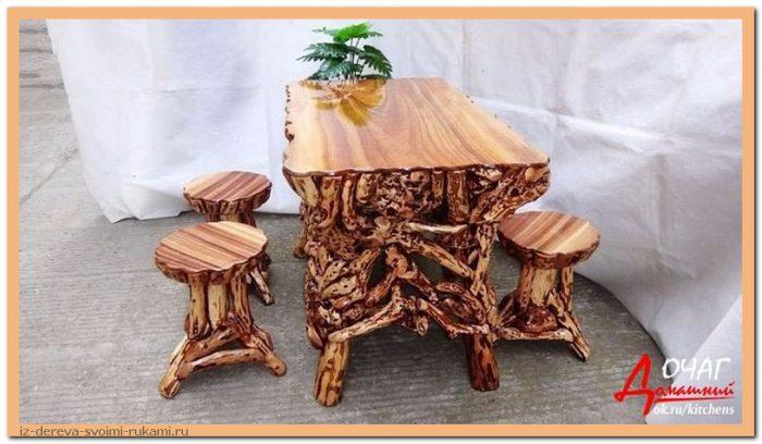 image - Из дерева своими руками. Мастер-классы по дереву - Очень крутые столы! 15 фото