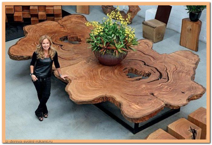 image5 - Из дерева своими руками. Мастер-классы по дереву - Очень крутые столы! 15 фото