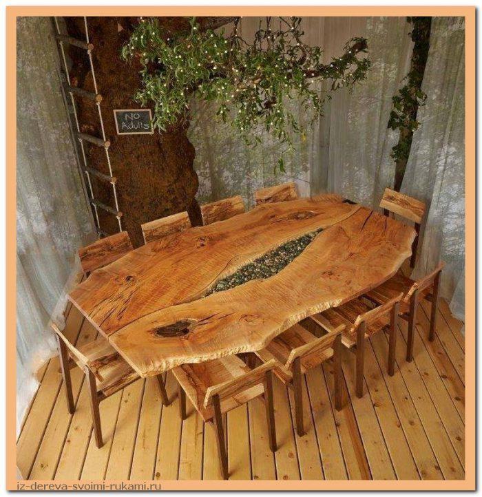 image7 - Из дерева своими руками. Мастер-классы по дереву - Очень крутые столы! 15 фото