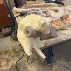 1 - Из дерева своими руками! Интересные деревянные поделки, мебель, мастер-классы по дереву - Енот из дерева