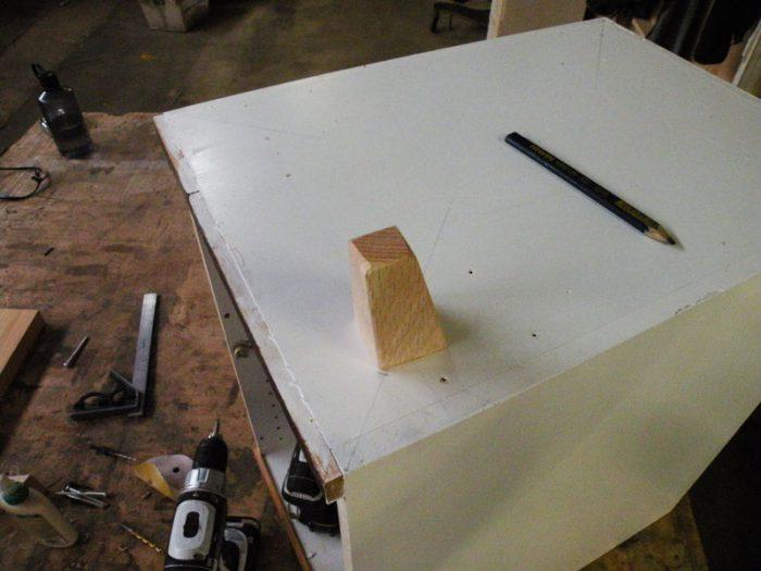 1415735627 FtUumroG - Из дерева своими руками! Интересные деревянные поделки, мебель, мастер-классы по дереву - Тумбочка из древесных остатков