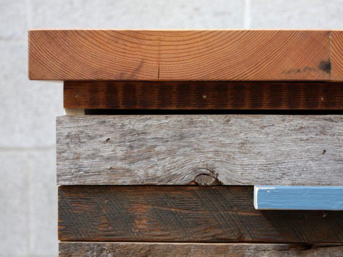 1415735938 XPIuGVyh - Из дерева своими руками! Интересные деревянные поделки, мебель, мастер-классы по дереву - Тумбочка из древесных остатков