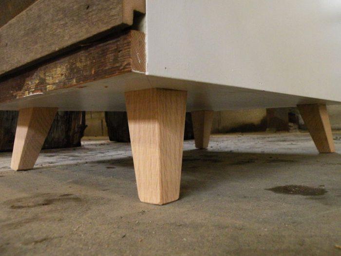 1415735941 XzDpmolo - Из дерева своими руками! Интересные деревянные поделки, мебель, мастер-классы по дереву - Тумбочка из древесных остатков