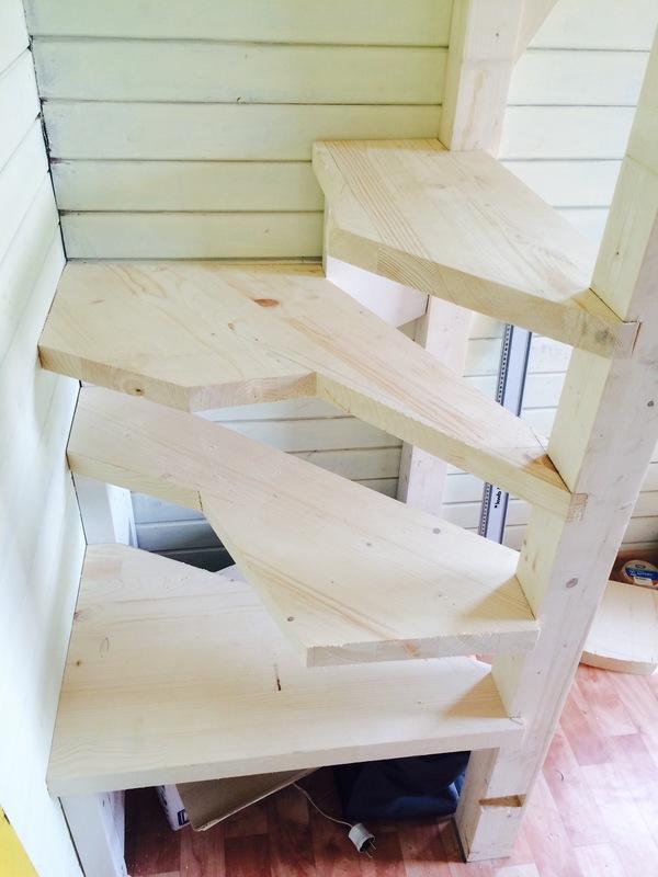 Лестница своими руками Своими руками, пятничный тег моё, лестница, рукожоп, длиннопост