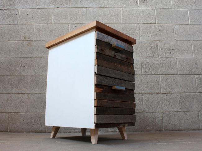 mainphoto 650  1 - Из дерева своими руками! Интересные деревянные поделки, мебель, мастер-классы по дереву - Тумбочка из древесных остатков