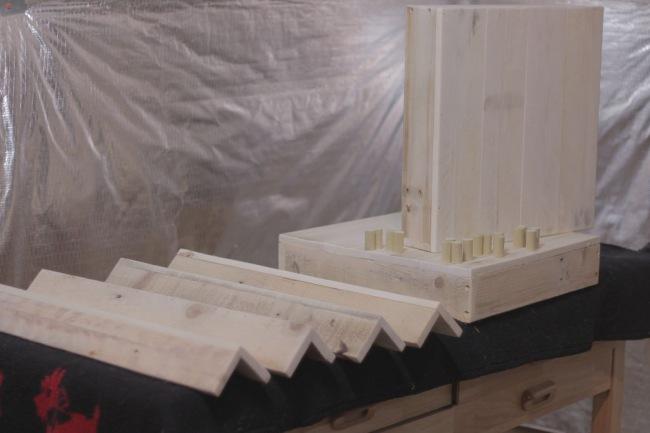 rvKateyLbk 650 - Из дерева своими руками. Мастер-классы по дереву - Прикроватный столик-тумбочка из паллет