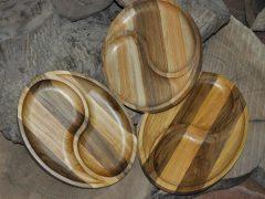 Тарелки из дерева