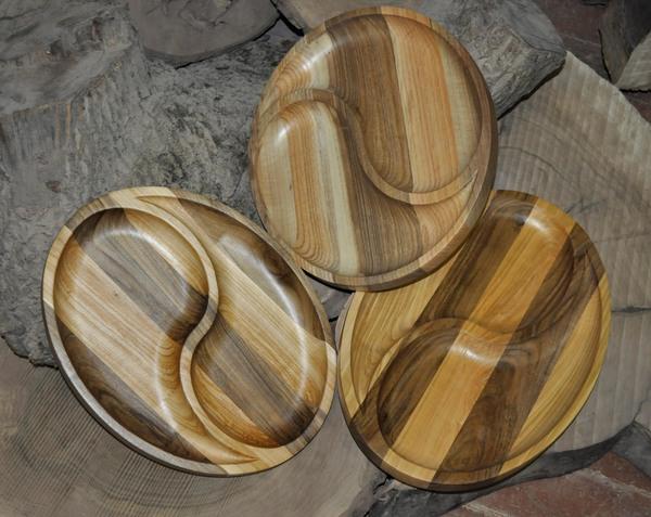 Тарелки из дерева Тарелка, Посуда, Дерево, Деревянная посуда, Длиннопост