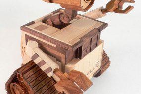 40 необычных изделий из дерева