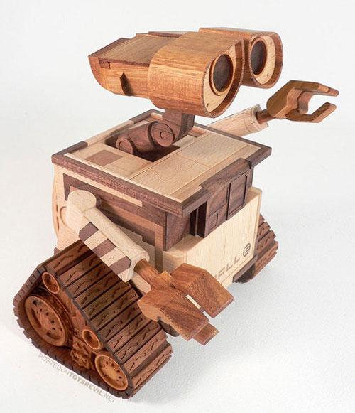 wood izdeliya 38 - Из дерева своими руками. Мастер-классы по дереву - 40 необычных изделий из дерева