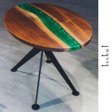 Дерево и эпоксидная смола. Мастер-класс изготовления стола из слэба и смолы
